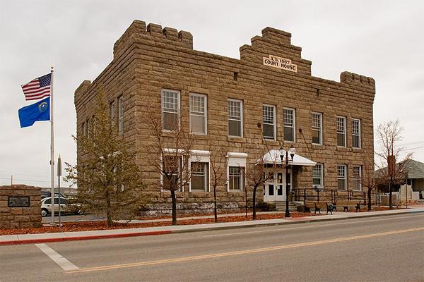 Esmeralda Court House, Gold Field, Nevada.