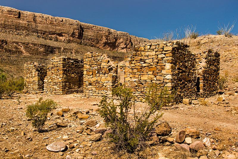 Dorgan House Ruins, Big Bend National Park, Texas