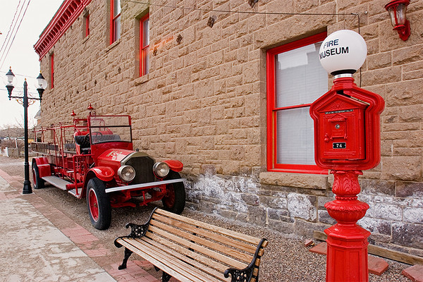 Fire Museum, Gold Field, Nevada.