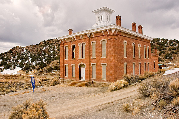 Belmont was the county seat for Nye County, NV, from 1867-1905. Back then, who would have thought that it would someday be a ghost town?
