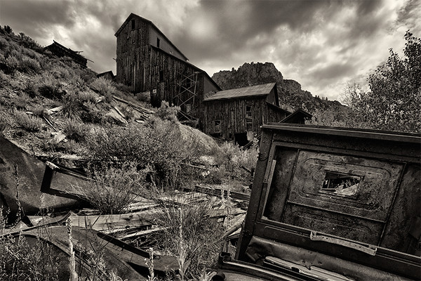 Bayhorse Ghost Town, Idaho