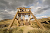 Head Frame of Bodie Ghost Town