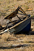 100's of miles from any water, why was there an old boat lying on its side in this ghost town?  Cerbat Ghost Town Photos