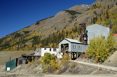 The Mayflower Mill located outside Silverton, Colorado.  It was opened in 1929 and finally closed in the 1990's.  Now tours are given during the summer months.