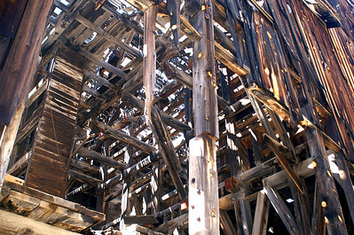 These structures show how skilled the carpenters were since many of the buildings are still standing.