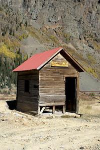 Another building in Howardsville, Colorado.