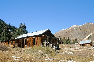 Another home in Animas Forks, Colorado.