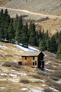 This house is probably the most photographed building in Animas Forks.  I know I took my fair share of photos.