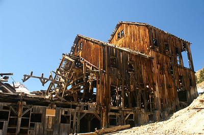 Frisco Mill just north of Animas Forks, Colorado.