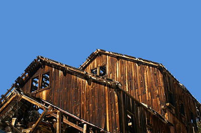 I found the roof lines and windows very interesting on the Frisco Mill.