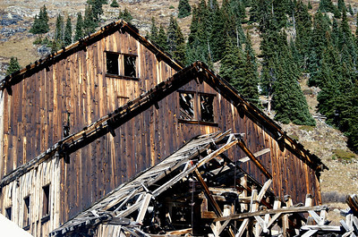 Frisco Mill near Animas Forks, Colorado.