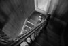 Staircase in the Sedman House in Nevada City Ghost Town - Photo by Pat Bonish