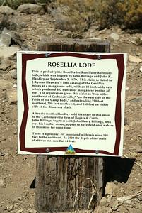 Rosellia Lode