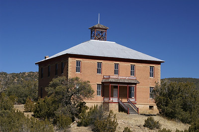 Four room schoolhouse built in 1895 and closed in 1947.  It is now used for a local meeting hall.