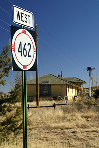 The railroad closed the depot in 1959, which further pushed the town into abandonment.