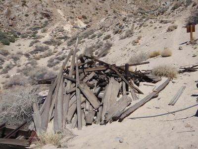 Skidoo Mill,  Death Valley, CA April 2009
