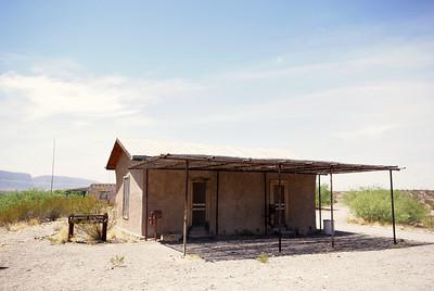 Former Custom House at Castolon, TX.