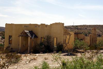 Former school in Terlingua, TX.