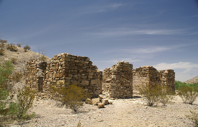 Former ranch house near Castolon, TX.