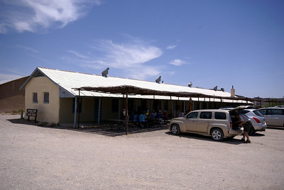 Former Army barracks in Castolon, TX.  Building is now a ranger office and small store.