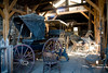 Carriage Shop in Virginia City Montana - Photo by Pat Bonish