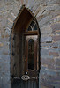 Gothic Entry Door in Virginia City Montana - Photo by Cindy Bonish