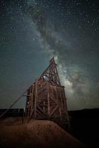 Quartz Mountain Milky Way