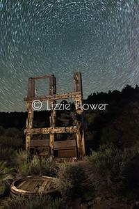 Aurora Stamp Mill - Star Trails
