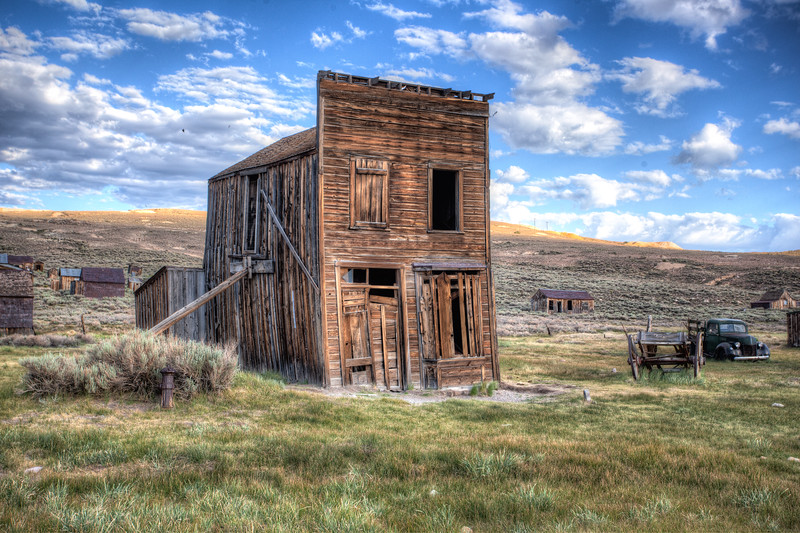 Bodie Leaning Building