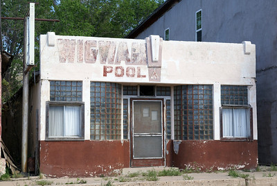 Wigwam Pool Hall Wagon Mound, NM