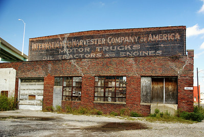 Cool ghostsign for International Harvester Company St Joe, MO