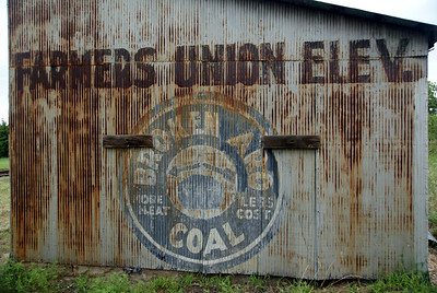 Farmers Union Elevator Broken Aro Coal Kanopolis, KS