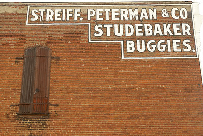 Studebaker was the only company to transition from wagons to automobiles. Plattsburg, MO