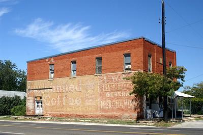 Wall size ad in Zepyhr, TX