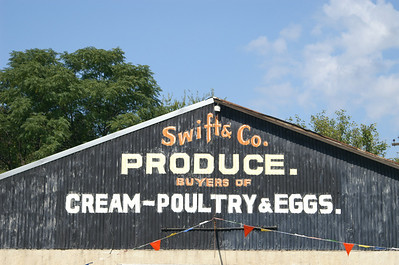 Swift sign found in Hico, TX.
