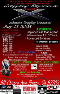 Gi & No-Gi Tournaments