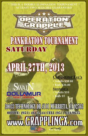 April 27 2013 Operation Grappling Pankration Murrieta Ca