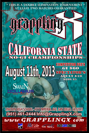 Aug 11, 2013 San Diego CA NOGI Tourney