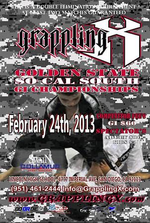 Feb 24, 2013 San Diego, CA GI Tourney