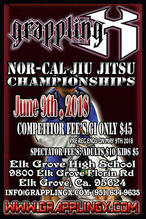 June 9th 2018 Nor-Cal Jiu Jitsu Championships