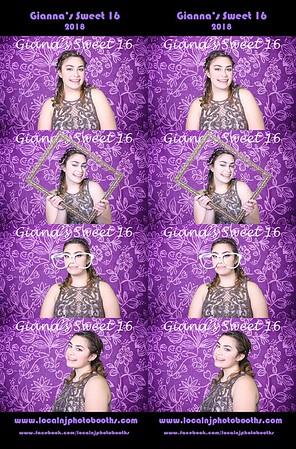 Giana Sweet 16 Strips