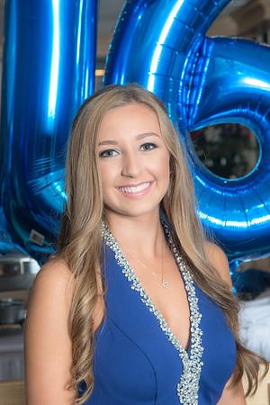 Gianna Sweet 16 , June 23rd