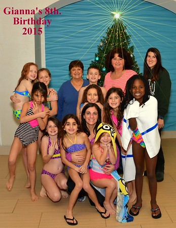 Gianna's 8th. Birthday Party 12-18-2015
