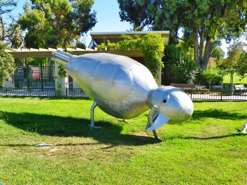 Giant Bird and worm -- 3