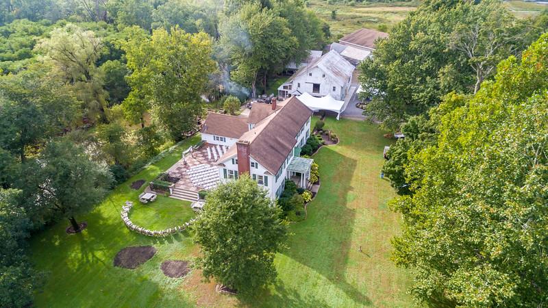 The Barn Open House Aerials 001 September 26, 2018