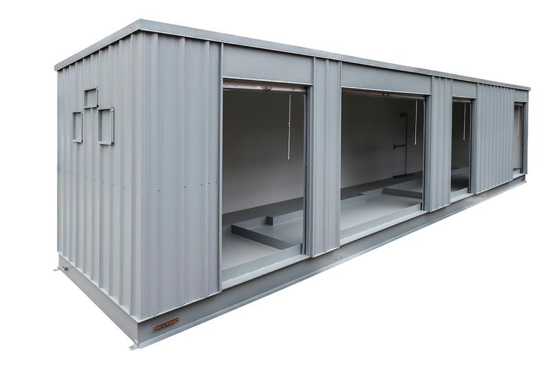 Large Bin 2 Open Doors