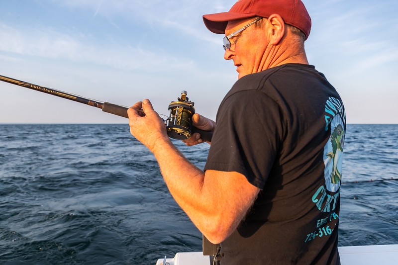Visit Erie Fishing Charter September 21, 2019 045