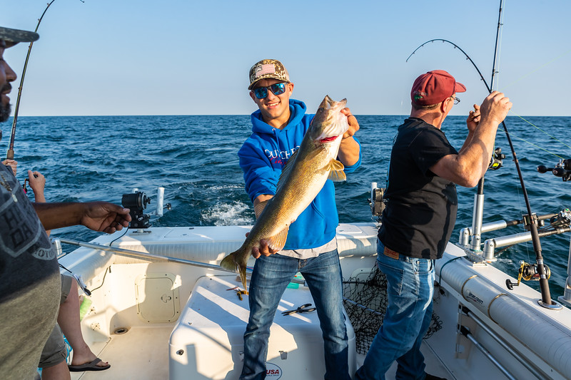 Visit Erie Fishing Charter September 21, 2019 047