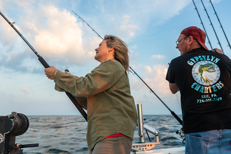 Visit Erie Fishing Charter September 21, 2019 028