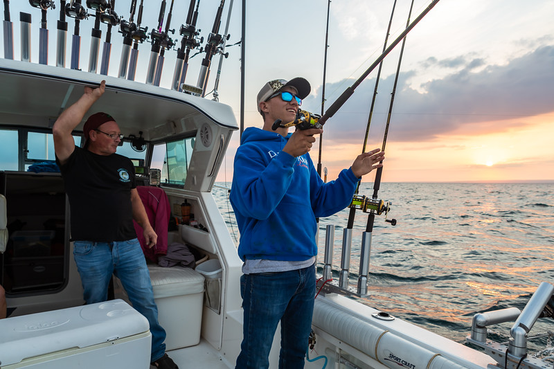 Visit Erie Fishing Charter September 21, 2019 017